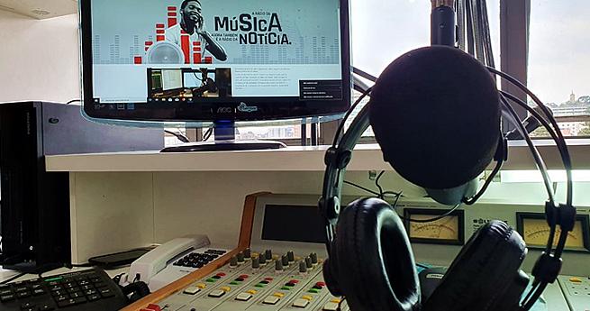 Lançamento do novo site da Rádio Libertas